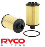 RYCO HIGH FLOW CARTRIDGE OIL FILTER TO SUIT HOLDEN CRUZE JH Z20D1 TURBO DIESEL 2.2L I4