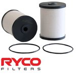 RYCO CARTRIDGE FUEL FILTER TO SUIT HOLDEN COLORADO RG LVN LKH LWH LWN TURBO DIESEL 2.5L 2.8L I4V