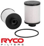 RYCO CARTRIDGE FUEL FILTER TO SUIT HOLDEN Z19DT Z19DTH Z20S1 TURBO DIESEL 1.9L 2.0L I4