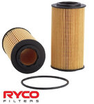 RYCO HIGH FLOW CARTRIDGE OIL FILTER TO SUIT FORD MONDEO MA MB B5254T TURBO 2.5L I5