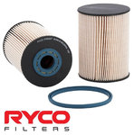 RYCO CARTRIDGE FUEL FILTERS TO SUIT FORD MONDEO MA MB MC D4204T D4204T7 TURBO DIESEL 2.0L I4