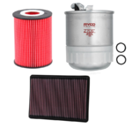 FILTER SERVICE KIT TO SUIT JEEP COMMANDER XH EXL TURBO DIESEL 3.0L V6