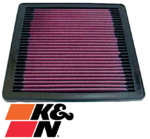 K&N REPLACEMENT AIR FILTER TO SUIT MITSUBISHI CHALLENGER PA 6G72 3.0L V6