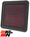 K&N REPLACEMENT AIR FILTER TO SUIT MITSUBISHI CHALLENGER PB PC 4D56T TURBO DIESEL 2.5L I4