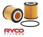RYCO HIGH FLOW CARTRIDGE OIL FILTER TO SUIT MAZDA BT50 UP UR P4AT TURBO DIESEL 2.2L I4