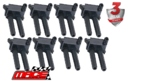 SET OF 8 MACE STANDARD REPLACEMENT IGNITION COILS TO SUIT JEEP COMMANDER XH EZB 5.7L V8