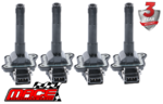 SET OF 4 MACE STANDARD REPLACEMENT IGNITION COILS TO SUIT VOLKSWAGEN PASSAT B5 AEB APU TURBO 1.8L I4