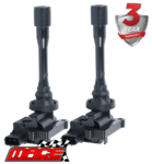 2 X MACE STANDARD REPLACEMENT IGNITION COIL TO SUIT MITSUBISHI LANCER CE CG CH 4G93 4G94 1.8 2.0L I4
