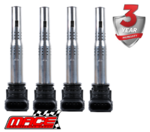 SET OF 4 MACE STANDARD REPLACEMENT IGNITION COILS TO SUIT VOLKSWAGEN AMAROK 2H CFPA TURBO 2.0L I4