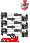 SET OF 6 MACE STANDARD REPLACEMENT IGNITION COILS TO SUIT SAAB 9-3 ALLOYTEC B284L B284R TURBO 2.8 V6