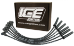 ICE 9MM PRO 100 SERIES IGNITION LEADS TO SUIT FORD FAIRLANE AU.II AU.III MPFI SOHC VCT 4.0L I6