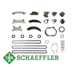INA TIMING CHAIN KIT WITHOUT GEARS TO SUIT SAAB 9-3 ALLOYTEC B284L TURBO 2.8L V6