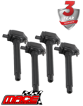 SET OF 4 MACE STANDARD REPLACEMENT IGNITION COIL TO SUIT JEEP COMPASS M6 TIGERSHARK 2.4L I4