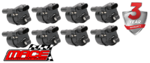 8 X MACE STANDARD REPLACEMENT ROUND IGNITION COIL TO SUIT CHEVROLET SUBURBAN 1500 LC9 LMG 5.3L V8