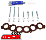 MACE 12MM UPPER MANIFOLD INSULATOR KIT TO SUIT NISSAN SKYLINE R31 RB30E 3.0L I6
