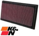 K&N REPLACEMENT AIR FILTER TO SUIT AUDI A3 8L 8P AEH AGN AKL APG AVU AGU AUM BFQ BLS 1.6L 1.8 1.9 I4