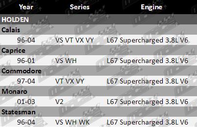 SET OF 6 BOSCH 36LB//380CC FUEL INJECTORS FOR HOLDEN L67 SUPERCHARGED 3.8L V6