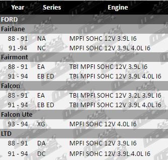 ROCKER COVER GASKET FOR FORD FALCON UTE XG MPFI SOHC 12V 4.0L I6
