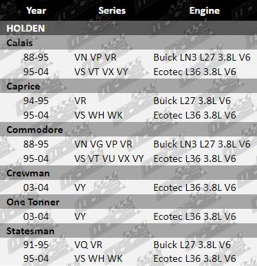 MACE ROCKER COVER GASKET SET FOR HOLDEN BUICK ECOTEC LN3 L27 L36 3.8L V6