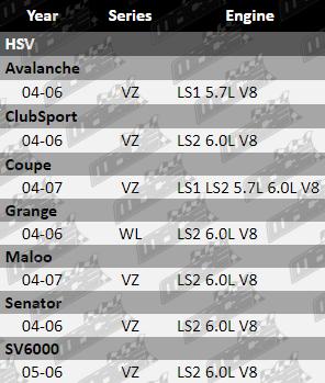 VCM PERFORMANCE INTAKE AIR TEMP SENSOR FOR HSV COUPE VZ LS1 LS2 5.7L 6.0L V8